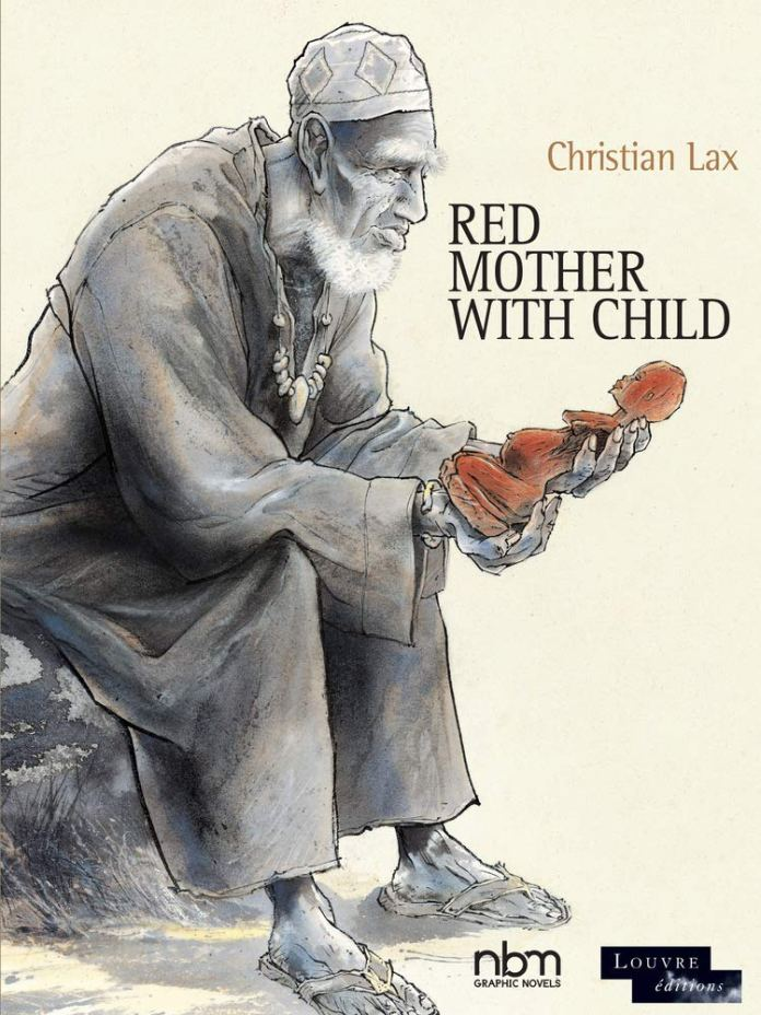 Red Mother With Child Cover