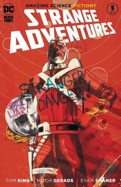 Strange Adventures #1 cover by Mitch Gerads