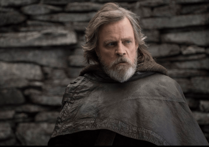 Luke Skywalker (Mark Hamill) in The Last Jedi