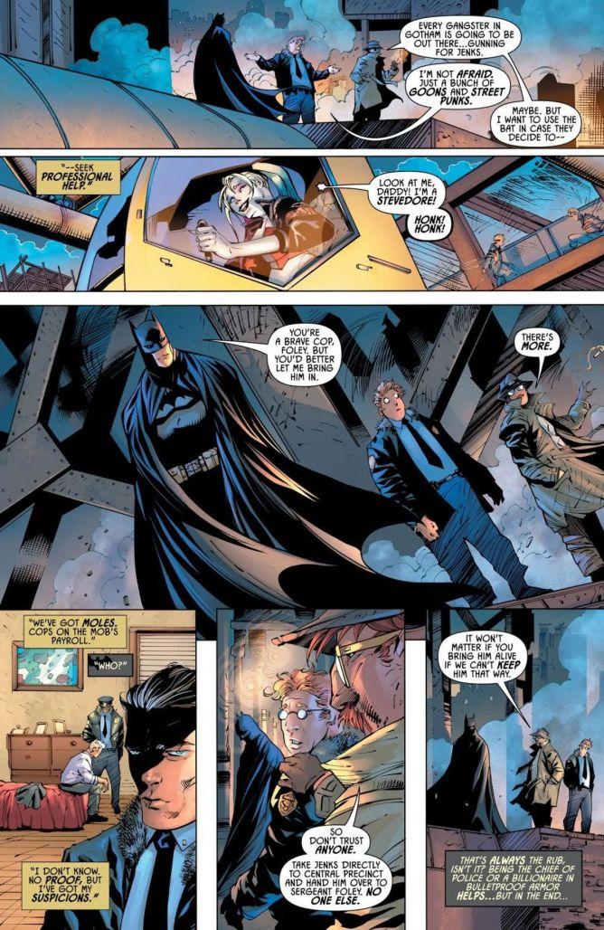 Mark Russell Batman