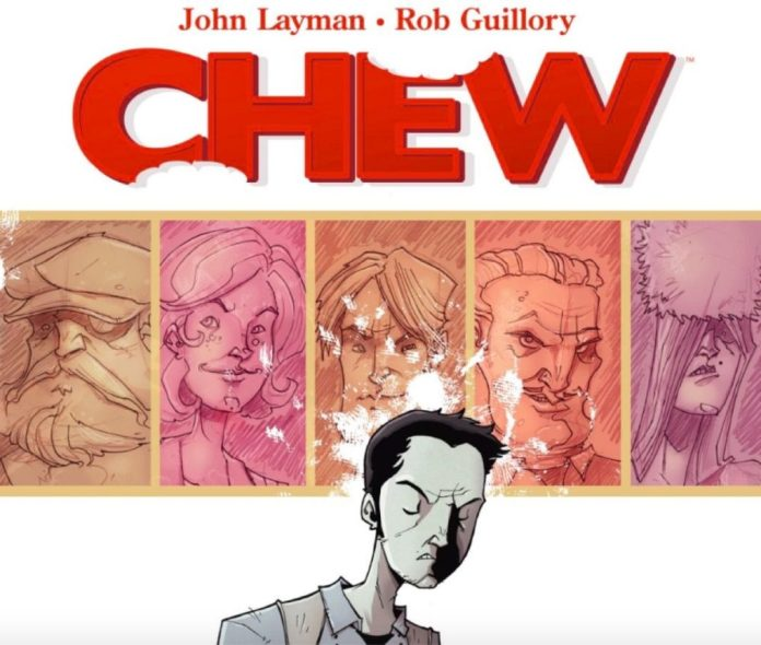 comic book crunch chew