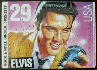 US Postal Service Elvis postcard puzzle