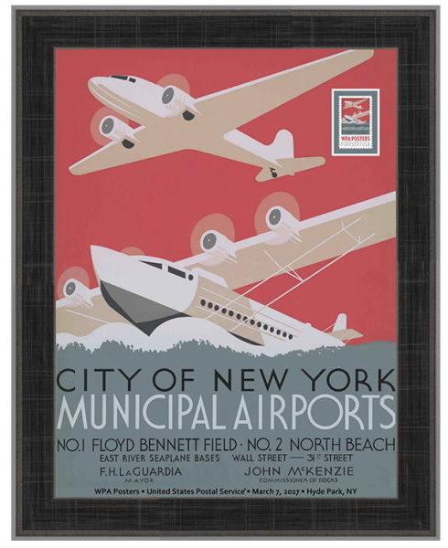 USPS NYC municipal airports