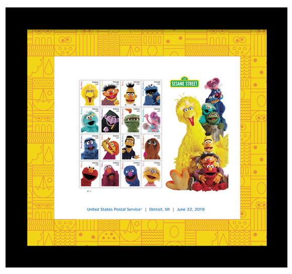 USPS Sesame Street stamps