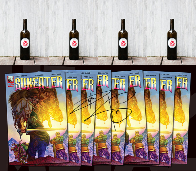 Suneater 9 Issues's Signed + Mead![1]