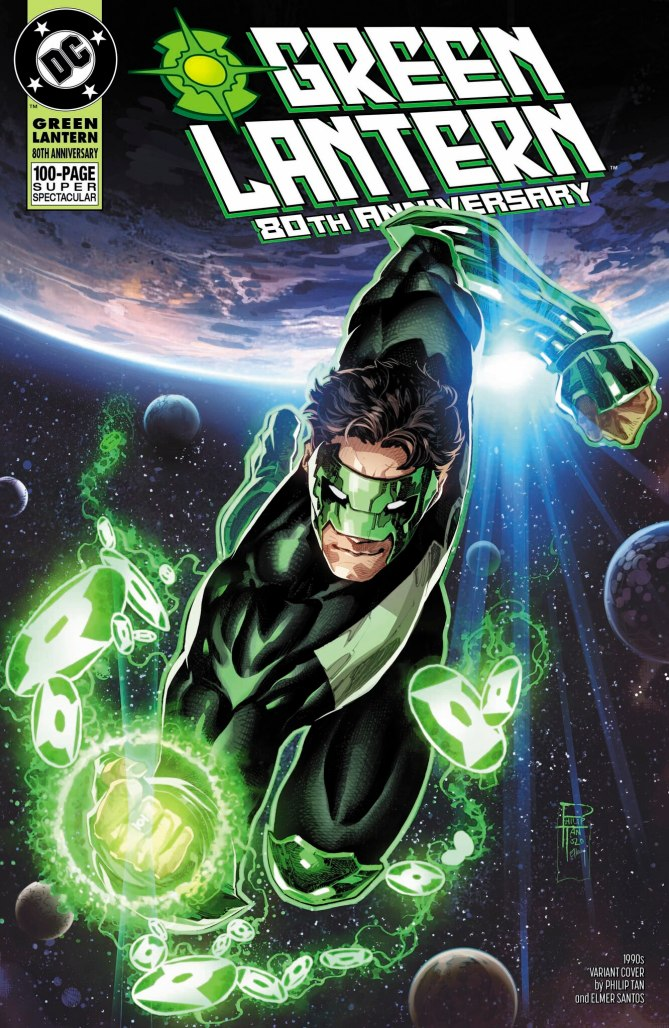Green Lantern 80th Anniversary Kyle Cover