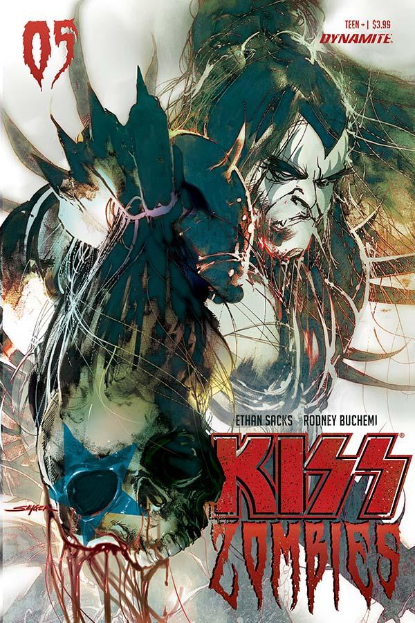 Kiss: Zombies #5
