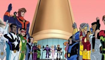 Legion of Superheroes cartoon