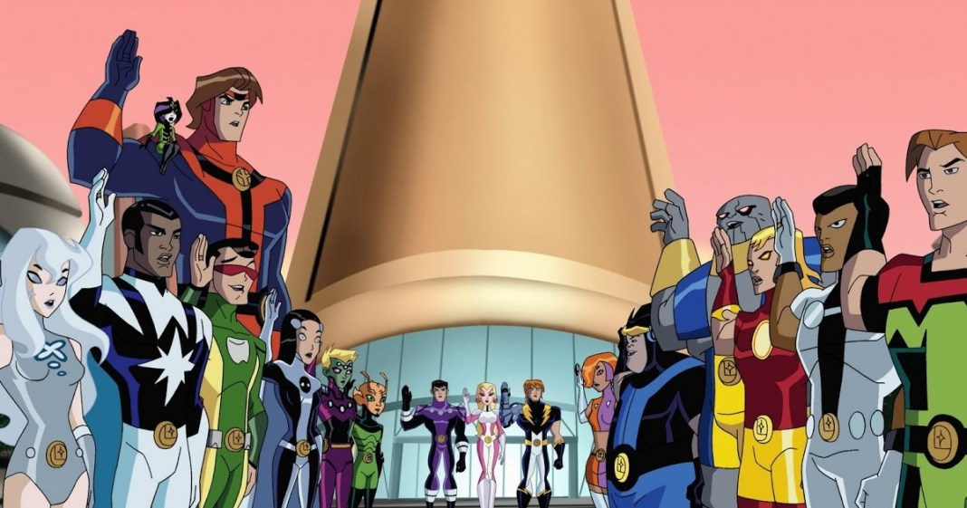 Legion of Superheroes cartoon