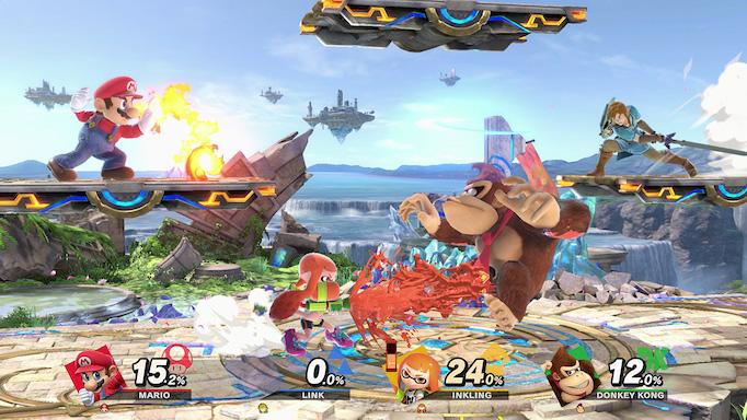 Smash Bros. crossover gameplay