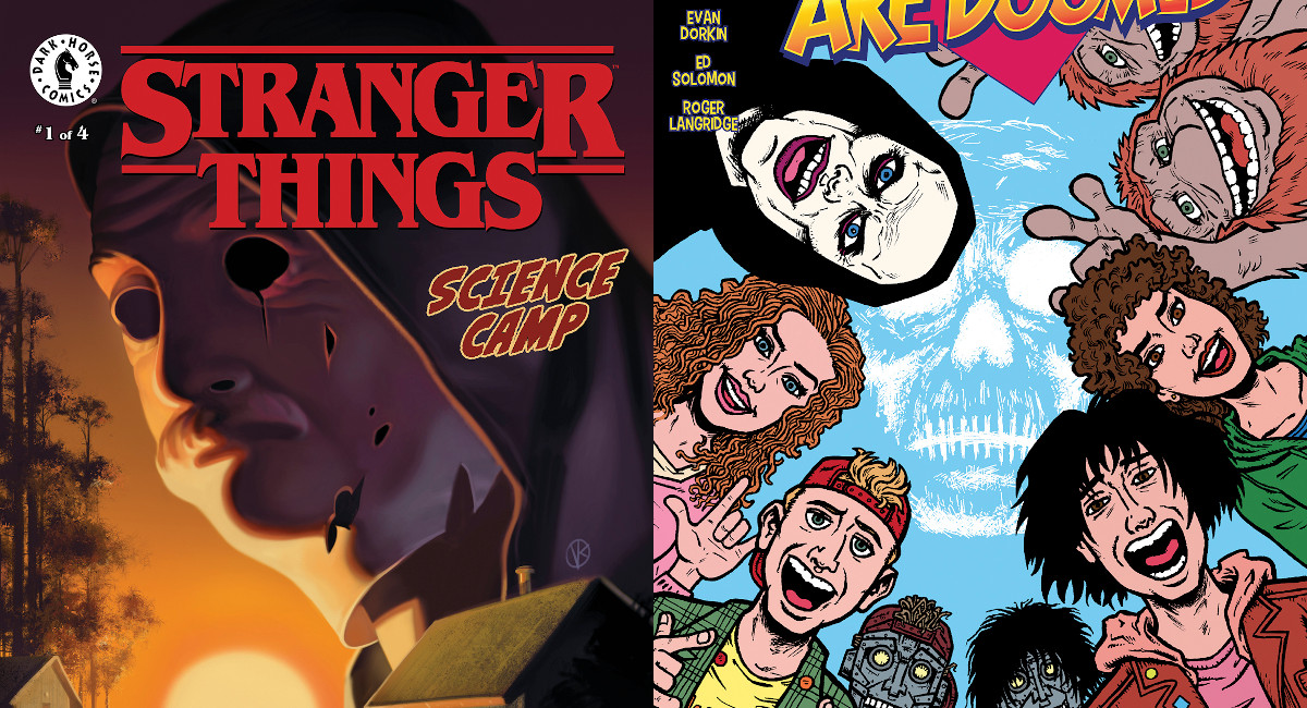 New STRANGER THINGS and BILL & TED in the Dark Horse September 2020 Solicitations