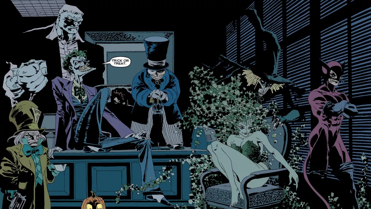 Halloween 2020 Comic Adaptation BATMAN: THE LONG HALLOWEEN two part animated adaptation coming