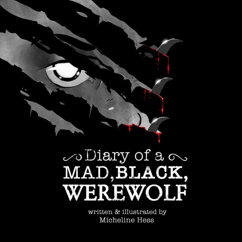 Mad Black Werewolf