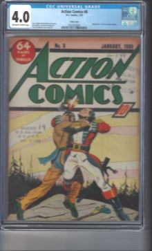 Action Comics #8 DC Comics Vs. Fawcett Lawsuit Court Copy