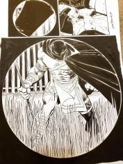 Black Panther #1 Splash by John Romita Jr and Klaus Janson