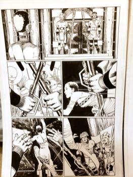 Black Panther #2 Original Art - 1st Shuri Original Art by John Romita Jr and Klaus Janson and Reggie Hudlin Page #8