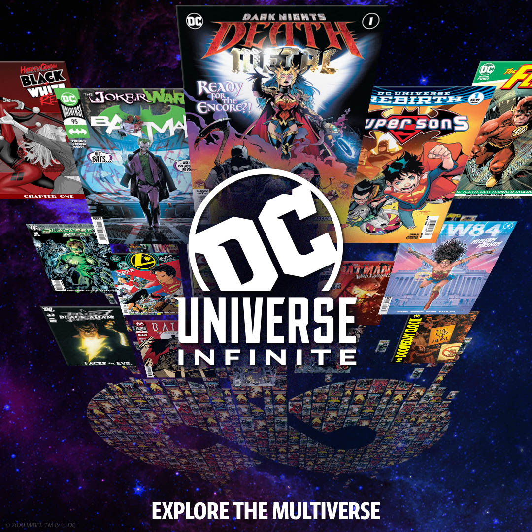 The DC Universe Infinite digital comics service launches this week