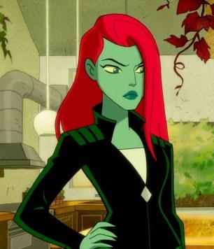 Dr. Pamela Isley in the Harley Quinn series--a fun closet cosplay idea