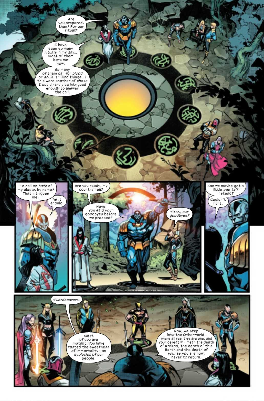 Marvel X OF SWORDS STASIS #1