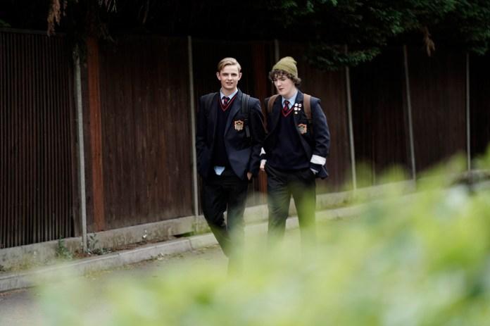 Otto Farrant and Brenock O'Connor in Alex Rider
