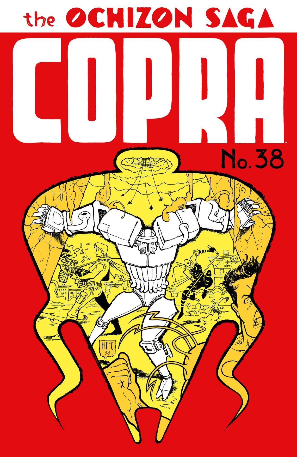 Copra 38 cover