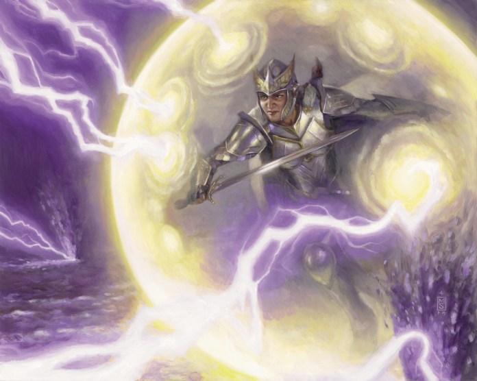 Timely Ward art from Commander Legends