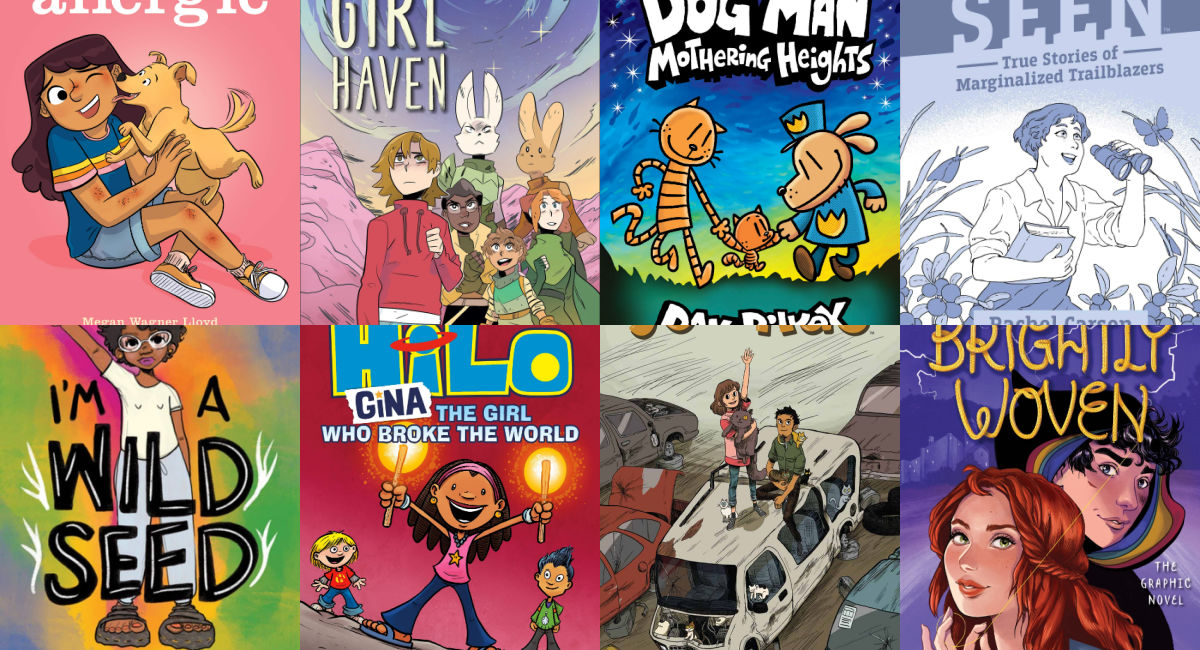 YA Graphic Novels for Winter 2021