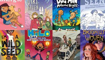 YA Graphic Novels for Winter 2021