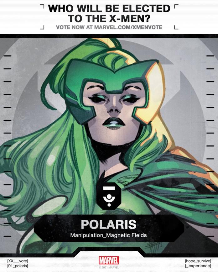 Polaris X-Men Vote Poster
