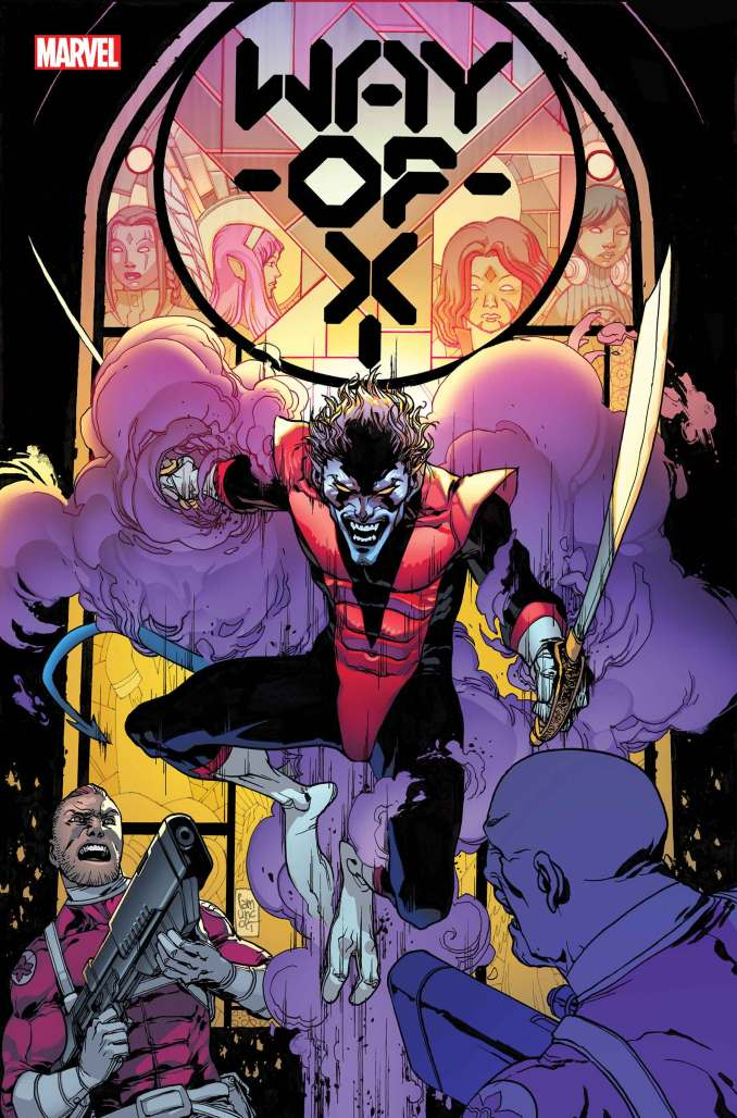 Way of X #1 Cover