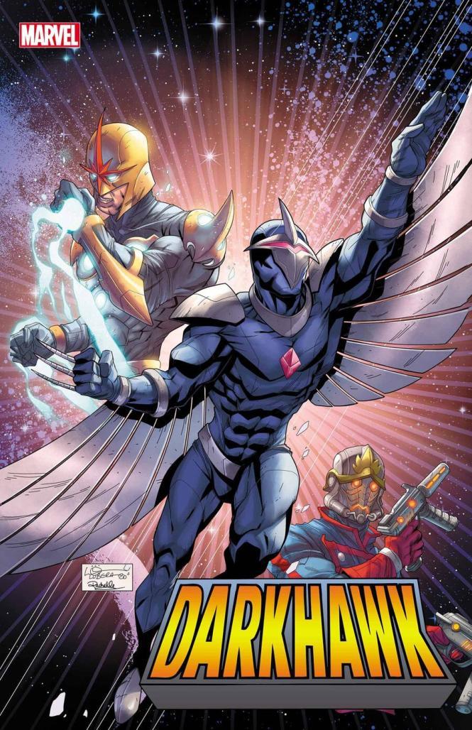 Darkhawk Heart of the Hawk #1 Variant Cover