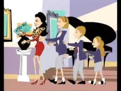 The Nanny animated intro--you don't make intros like that anymore