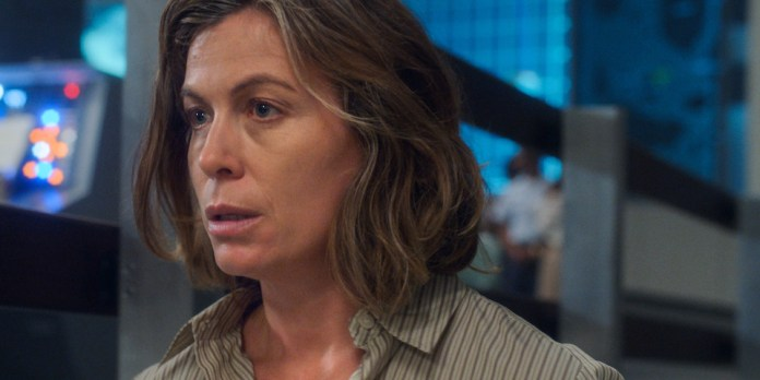 "Molly Cobb (Sonya Walger) contemplates her Earthbound fate in ""The Bleeding Edge"""
