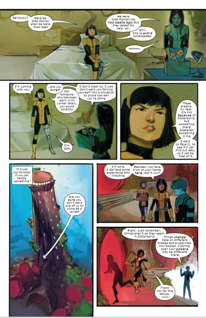 Page From New Mutants #16