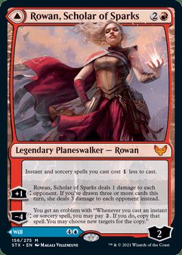 Rowan, Scholar of Sparks standard frame