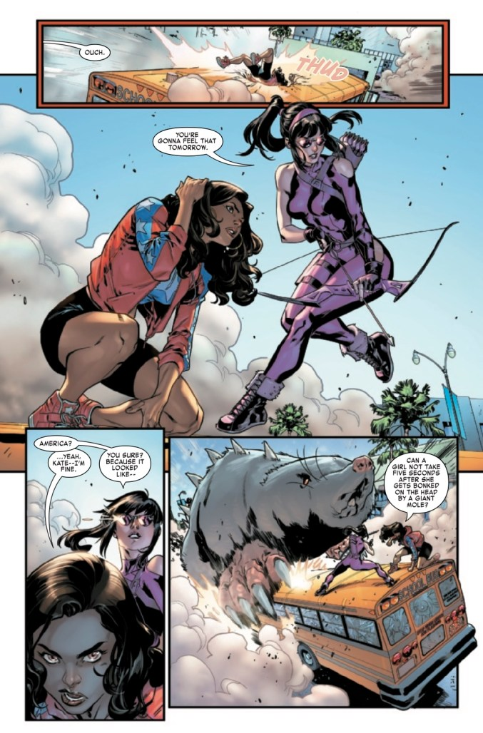 America Chavez: Made in the USA #1 Page 3