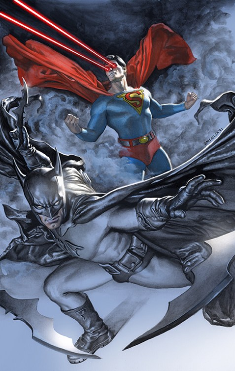 Batman Superman #17 variant cover