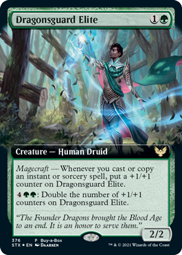 Dragonsguard Elite Buy-a-Box Promo Card