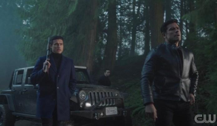 Riverdale Mayor Hiram Lodge and Reggie