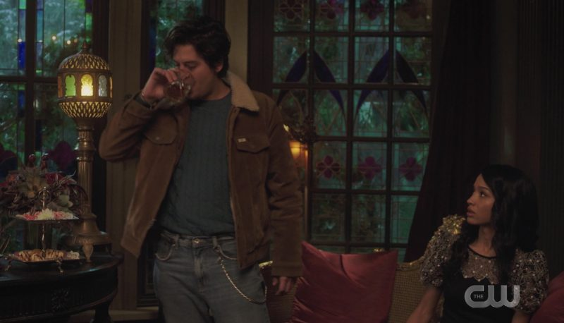 Jughead is the Riverdale town drunk