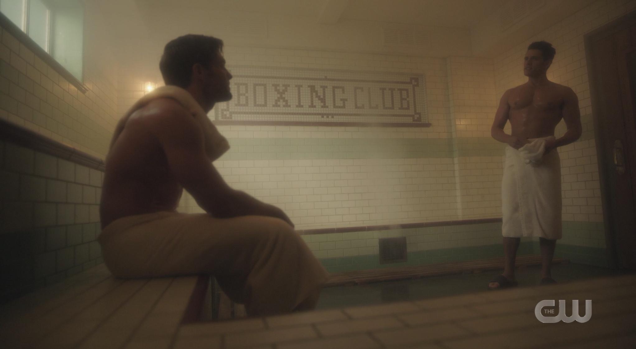 Kevin's second favorite hookup spot: Archie's gym