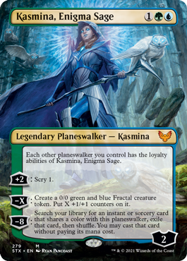 Kasmina, Enigma Sage borderless card