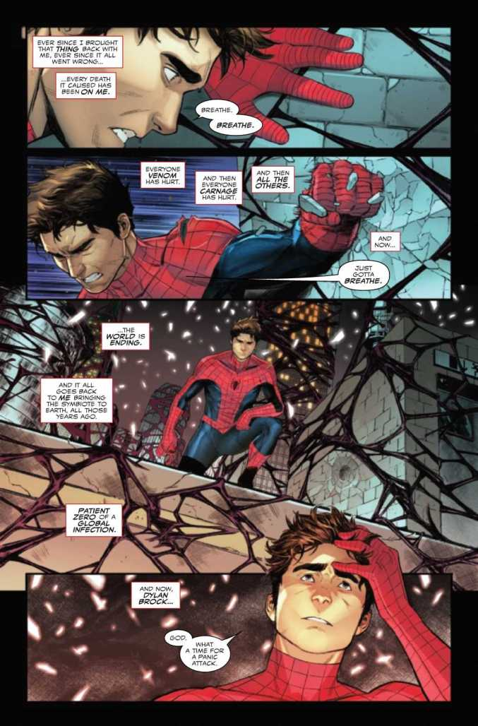 Page from From King in Black: Spider-Man #1