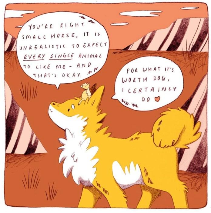 SMALL HORSE & DOG