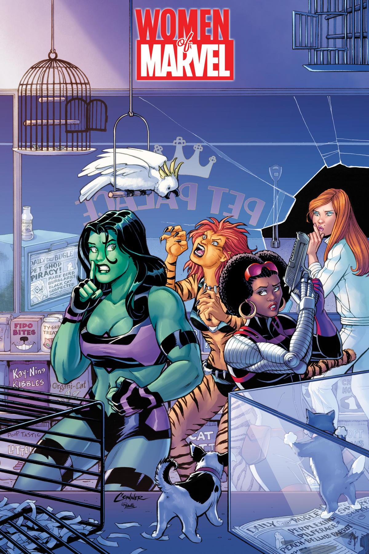 women of marvel conner cover