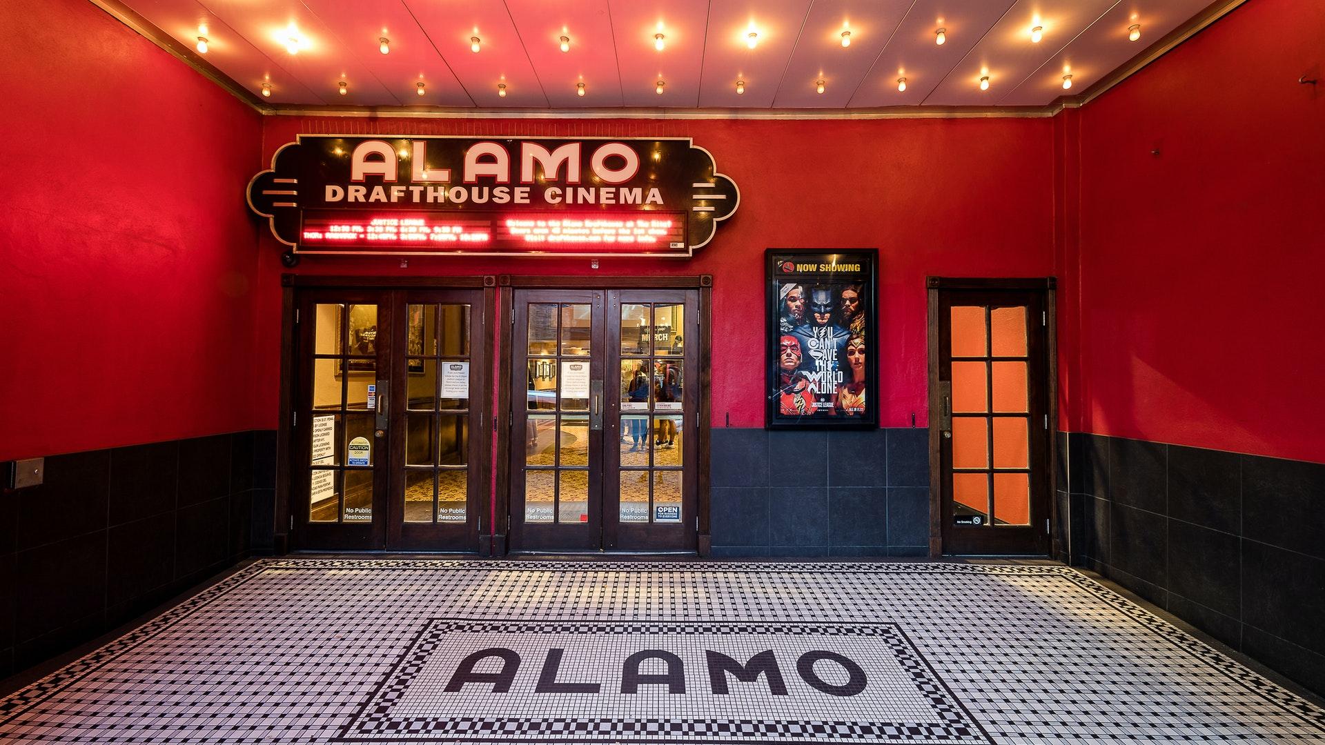 Alamo Drafthouse's Ritz location in Austin, TX