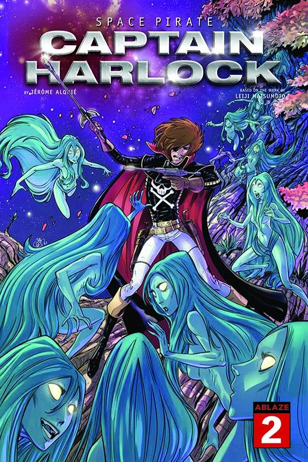 Space Pirate Captain Harlock variant Philippe Briones