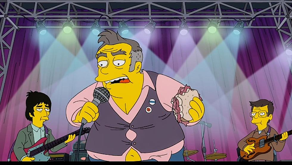 Morrissey The Simpsons