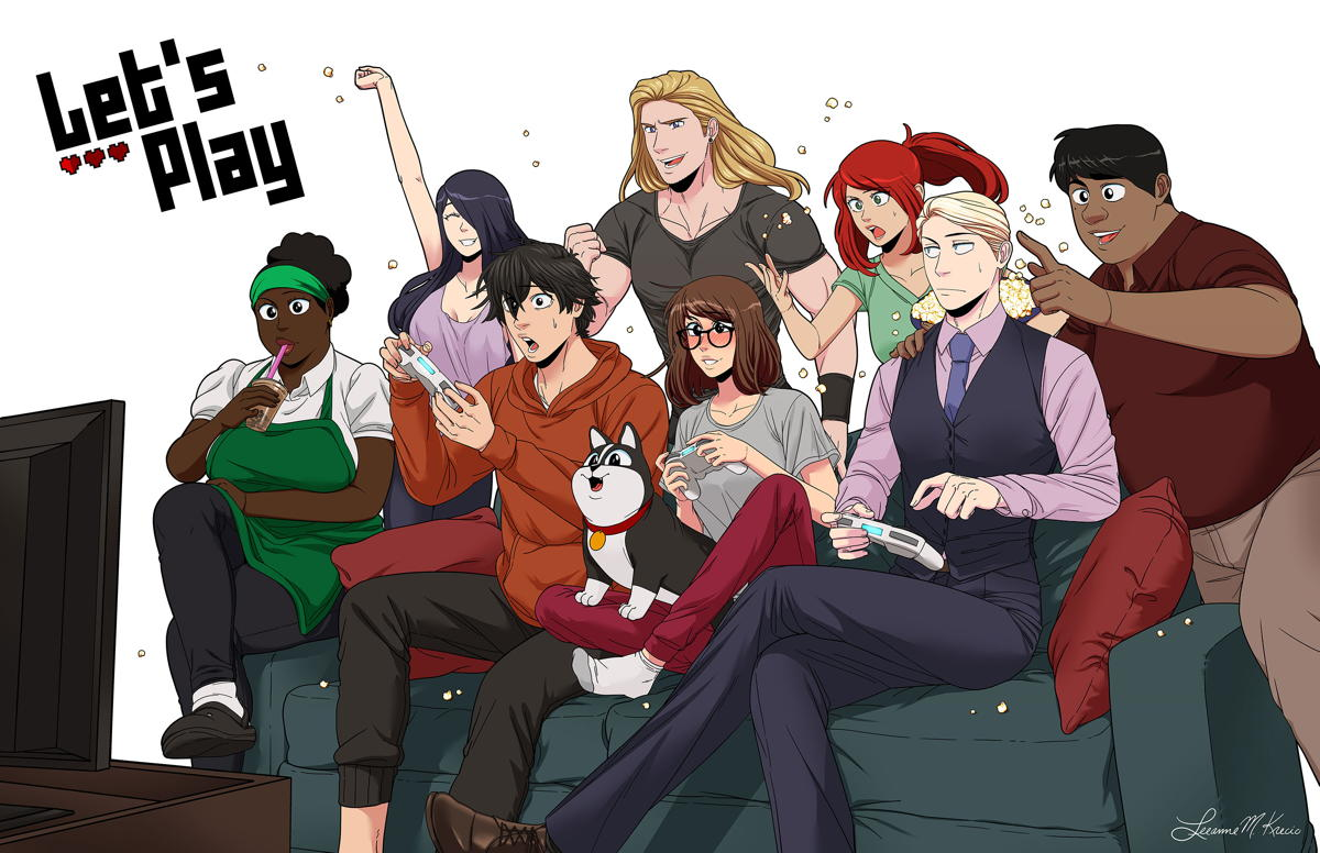 Webcomic Let's Play is in development as live action series - The Beat