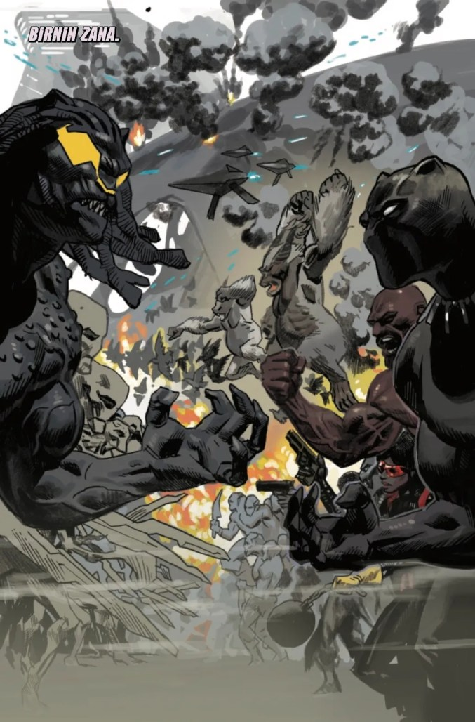 Page From Black Panther #25